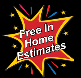We offer free in home estimates